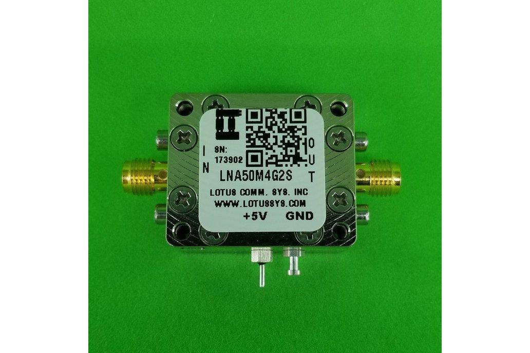 Amplifier LNA 0.8dB NF 50M~4GHz 1