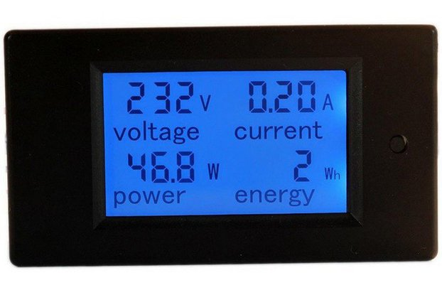 PZEM-021 4 in 1 LCD Voltage Current Active Power