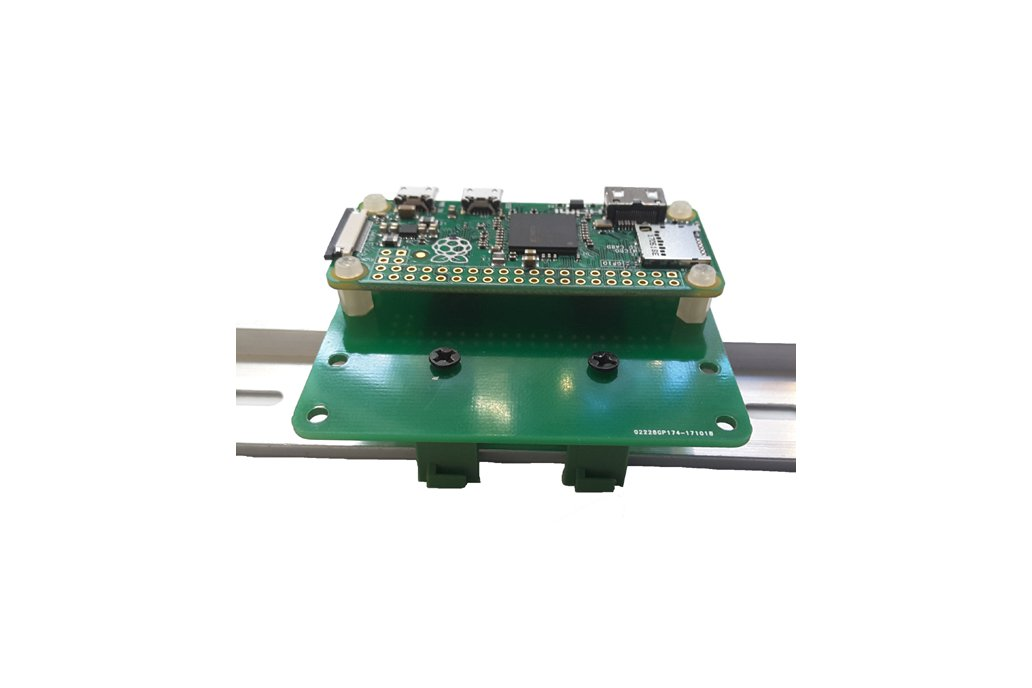 DIN-Rail kit for Raspberry Pi 2/3/Zero 4