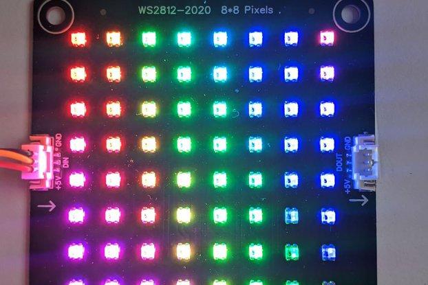 ws2812-2020 8*8 matrix