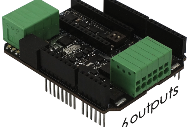 """Multi-functional """"Power Shield T800"""" for Arduino"""