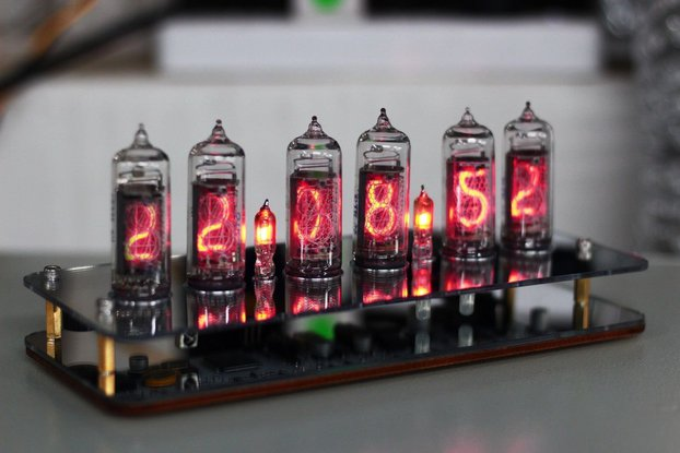 No Tube Diy Kit - NIXT CLOCK IN14 Nixie Tube Clock