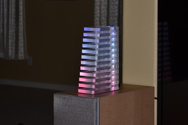 VU Tower Colorful Audio Visualizer with Bluetooth