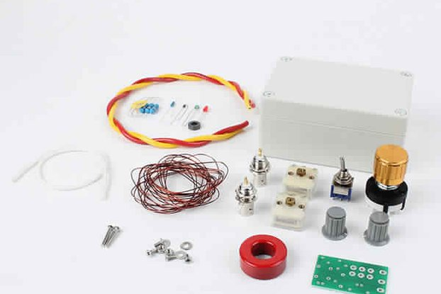 QRP 1-30 Mhz Manual Antenna Tuner Kit