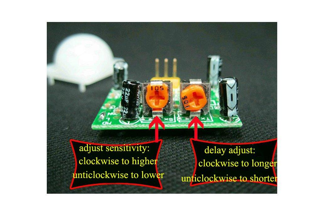 2pc Infrared sensing module 4