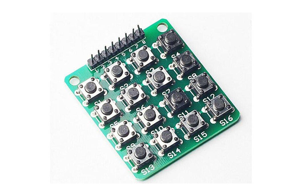 4 x 4 matrix keyboard DIY kit 3