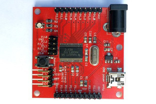MSP430F5172 Development Board (PCB)