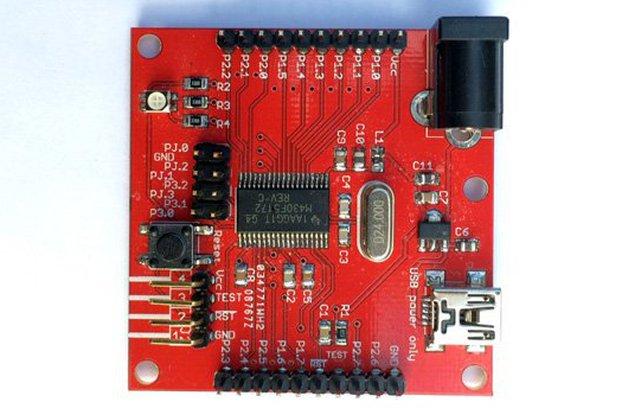 MSP430F5172 Development Board (PCB)
