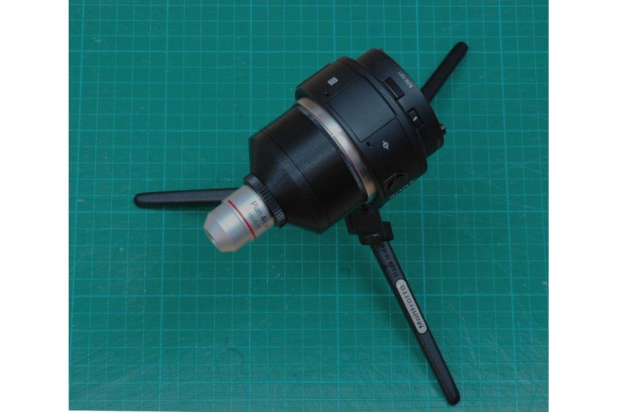 Microscope Macro Set for Sony Cameras