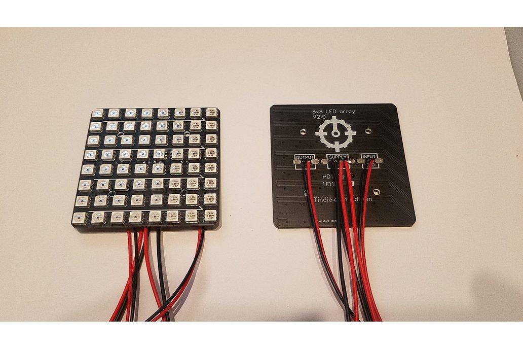 8x8 LED Matrix Improved 1