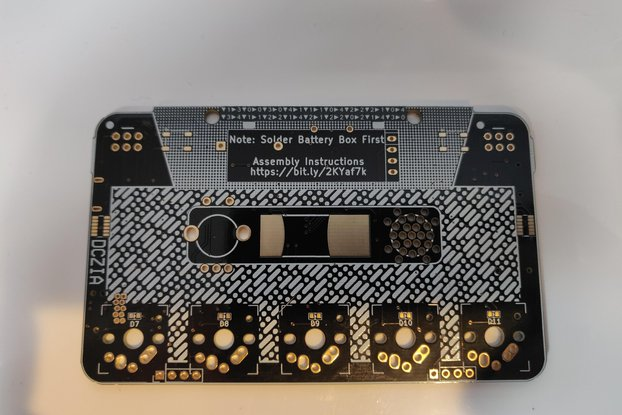 DCZia Laser Theremin Blank PCB