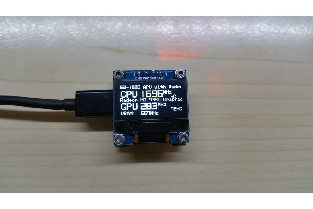 OLEDiSTATS OLED PC Performance Monitor 1