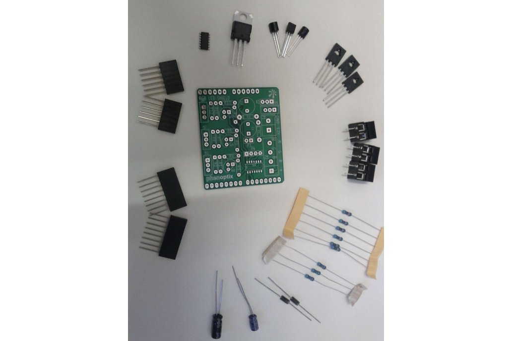 RGB LED Arduino Shield 2