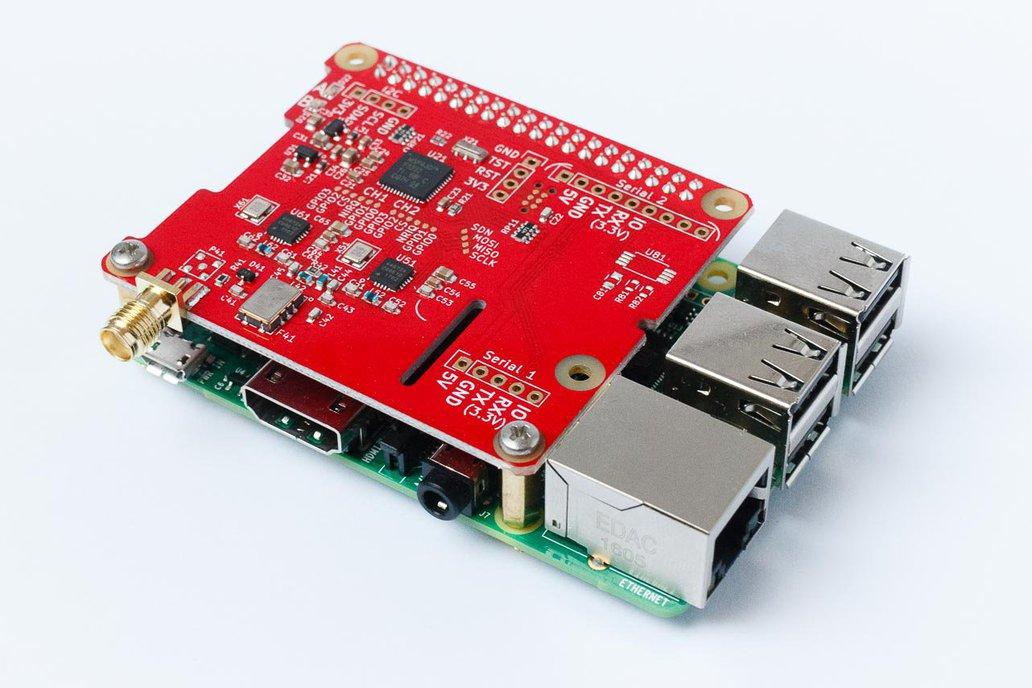 dAISy HAT - AIS Receiver for Raspberry Pi 2