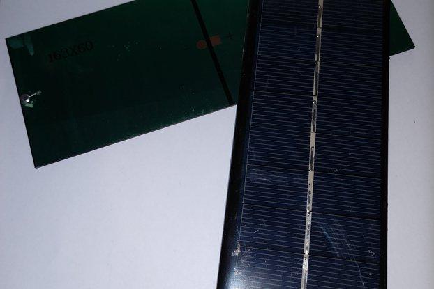 Unterminated 5V 200mA Solar Panel
