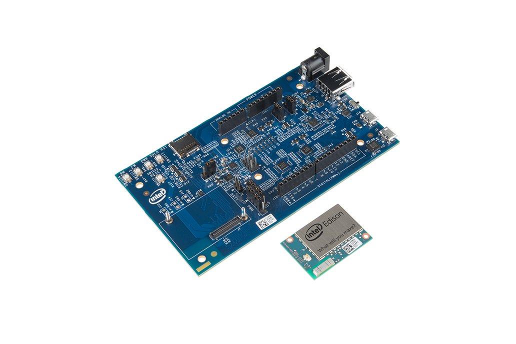 Intel Edison + Arduino Breakout Kit 1