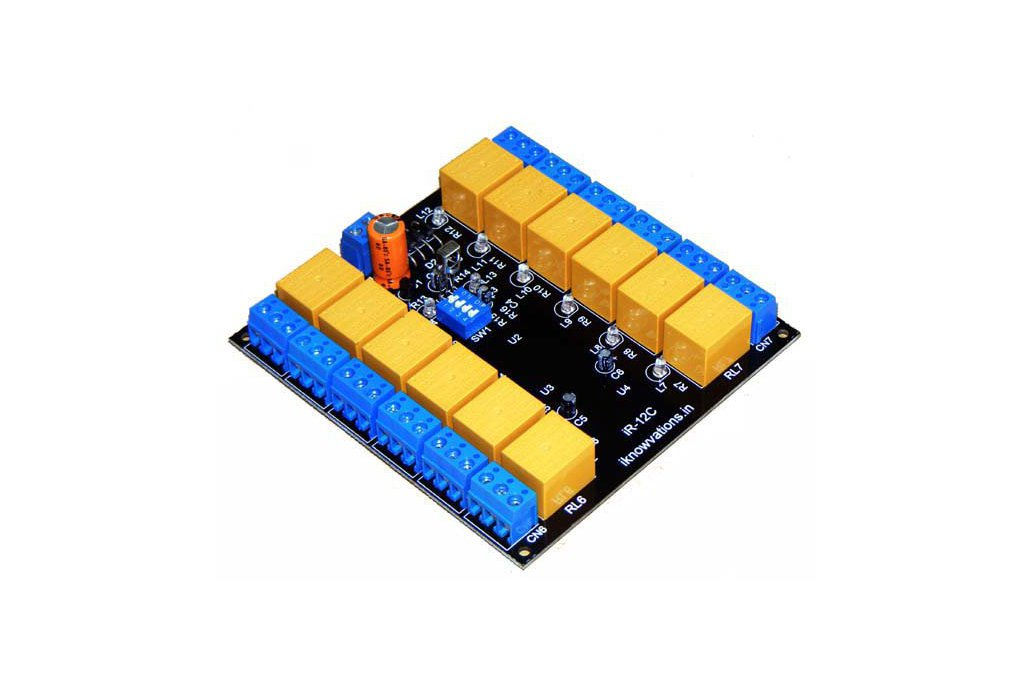 12 channel IR infrared remote control relay board   iR-12C  1