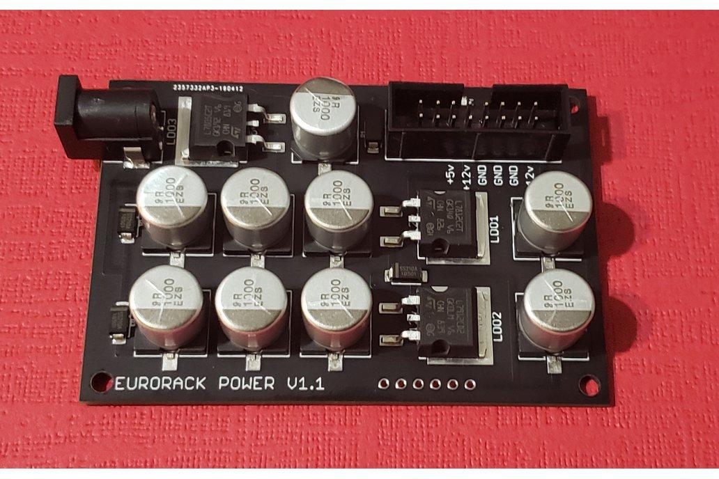 Basic Eurorack Power Supply - Kit or Assembled 1