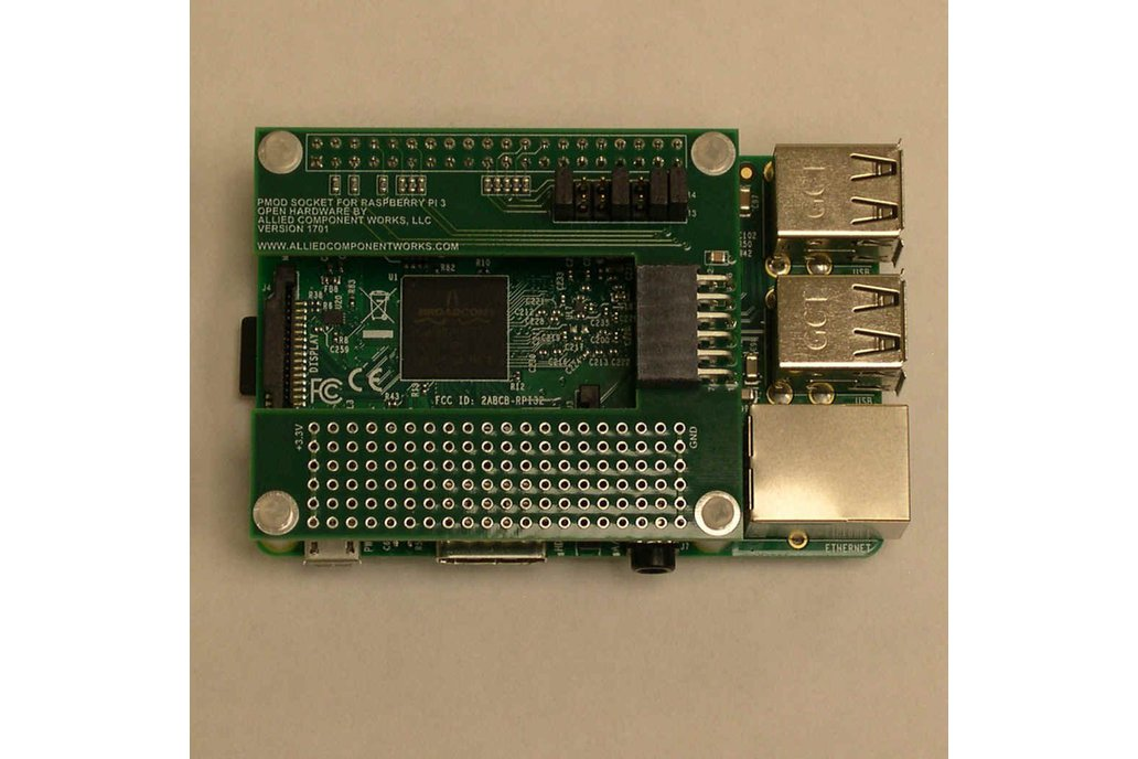 PMOD Adapter For Raspberry Pi