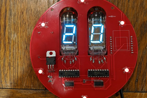 VFD 2 Digit Display via Arduino WeMos D1