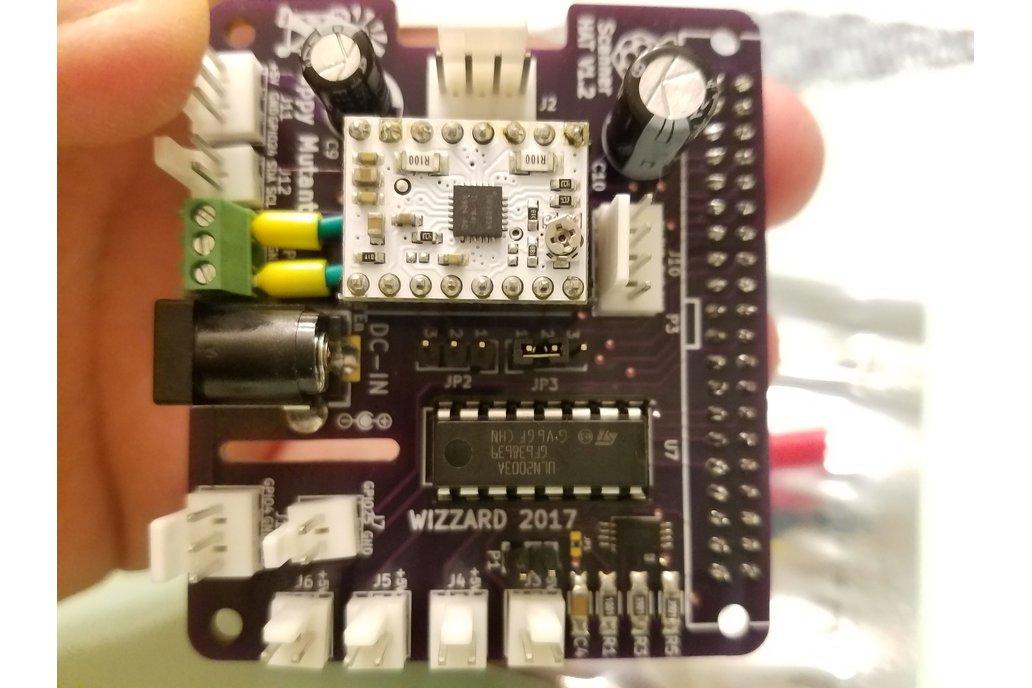 3D Scanner HAT for Raspberry Pi 7