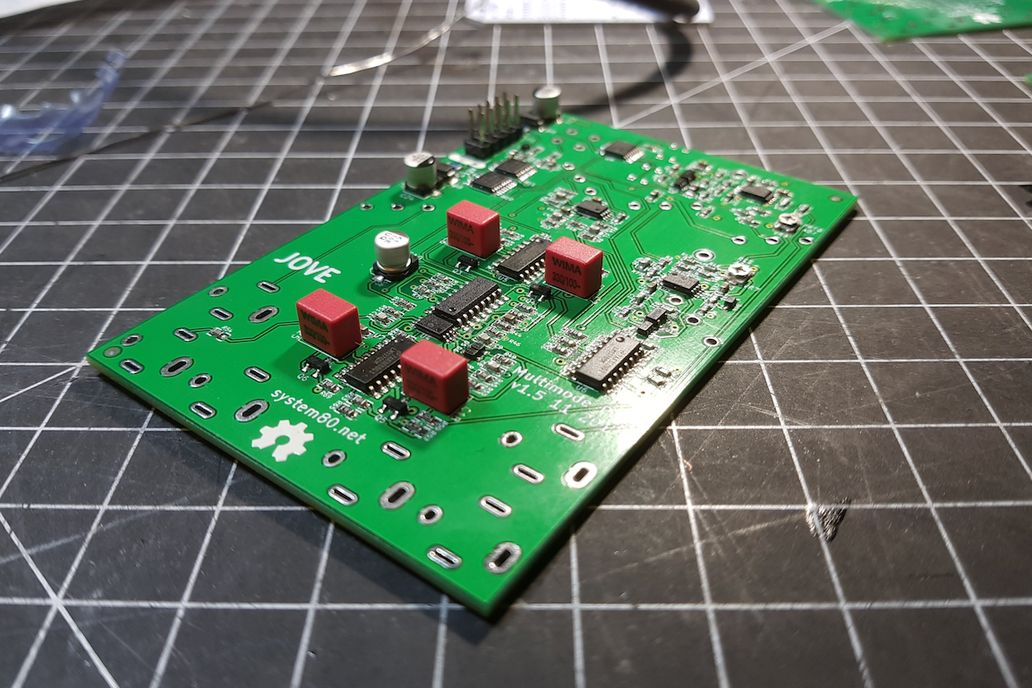 Jove Multimode Filter   Complete Eurorack Module 8