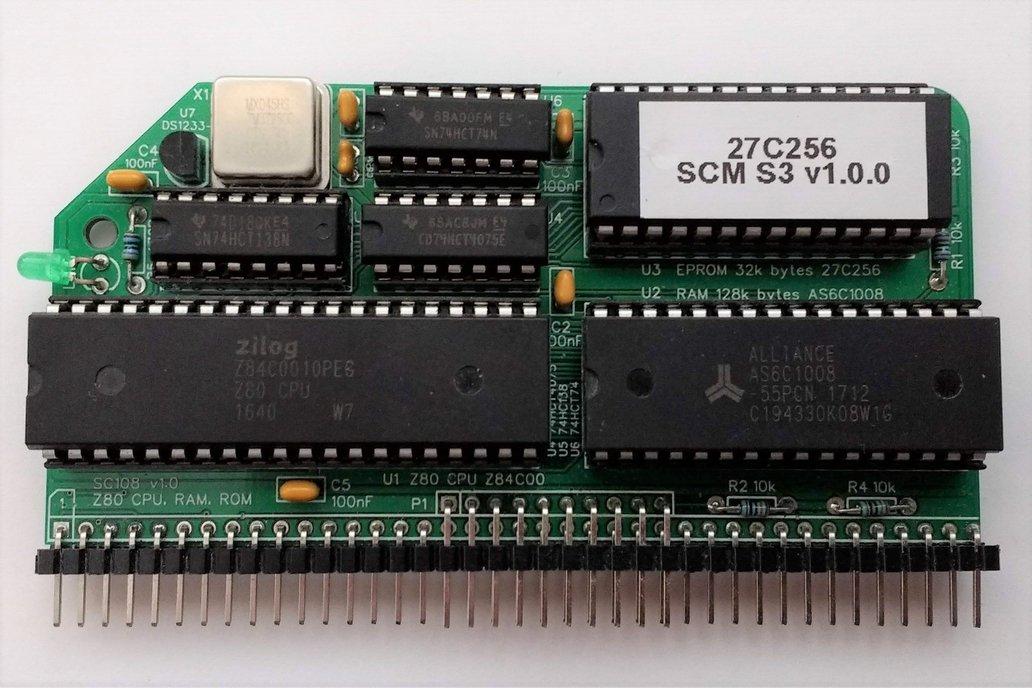 SC108 Z80 Processor Module Kit for RC2014 1