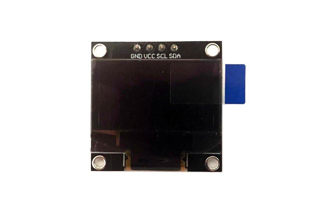 0.96 inch 128*64 OLED 4 Pin SPI IIC SSD1306 Blue 1
