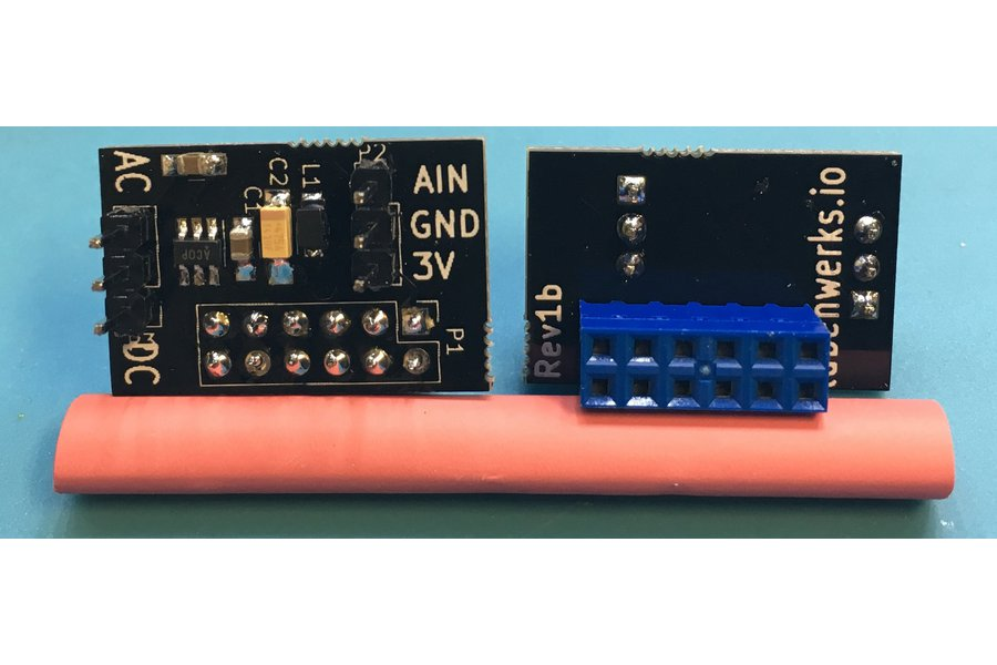 Raspberry PI single channel A/D 8 bit