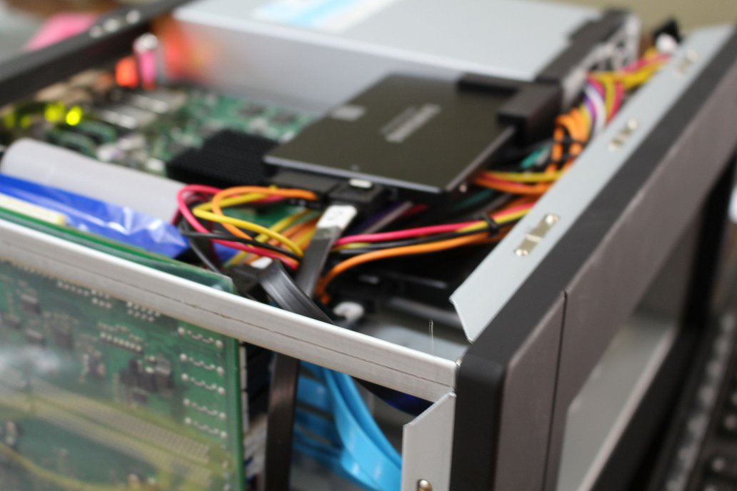 PSU Bracket for U-NAS NSC-800 NAS Server Chassis 5