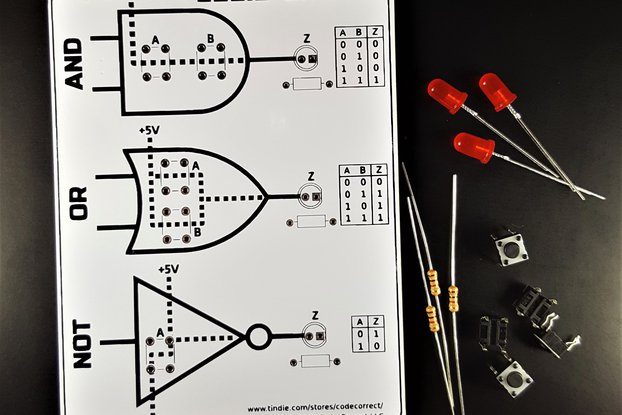 Basic Logic Gates using Switches - Learning Kit