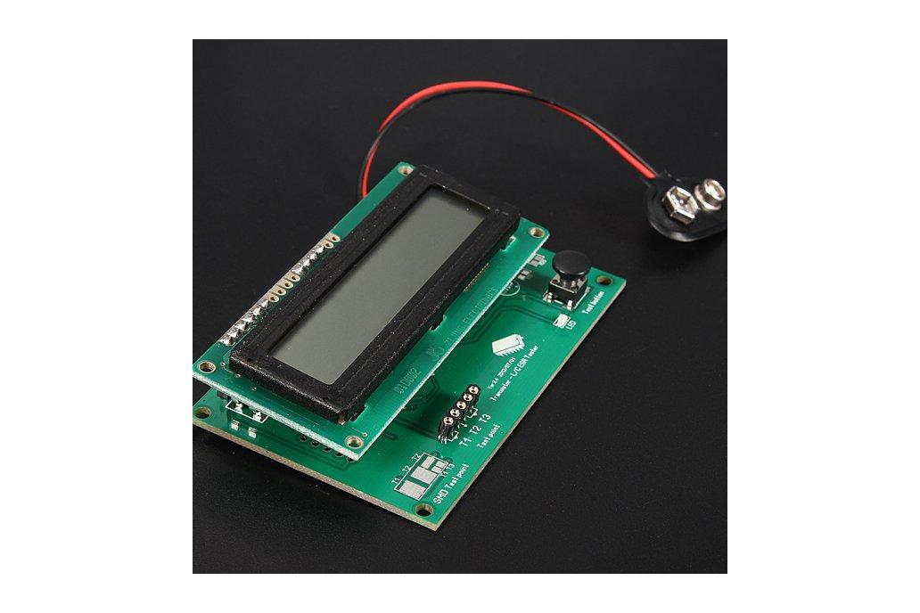 Transistor Tester Capacitor ESR Inductance Resistor Meter 3