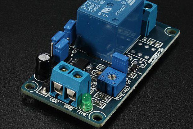 12V Power-ON Delay Relay Circuit