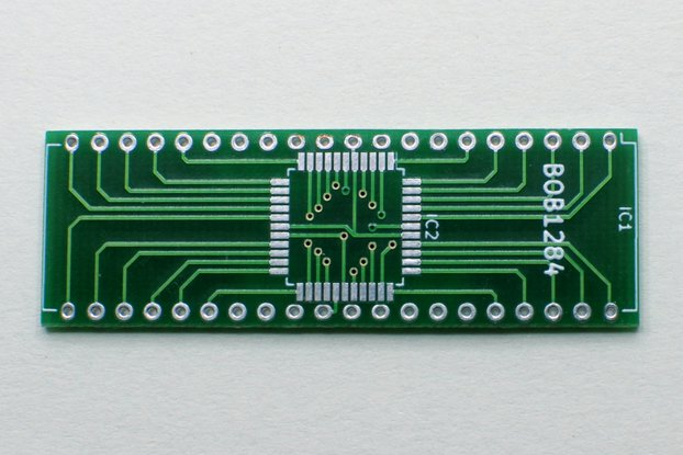 Breakout board for ATmega1284