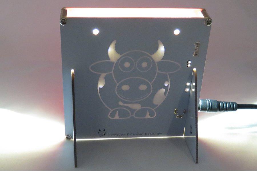 Backlight Stand for PCB Calendar