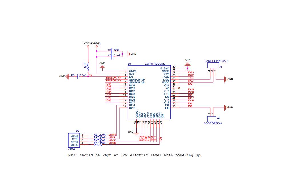 ESP32 ESP-WROOM-32 Module 4