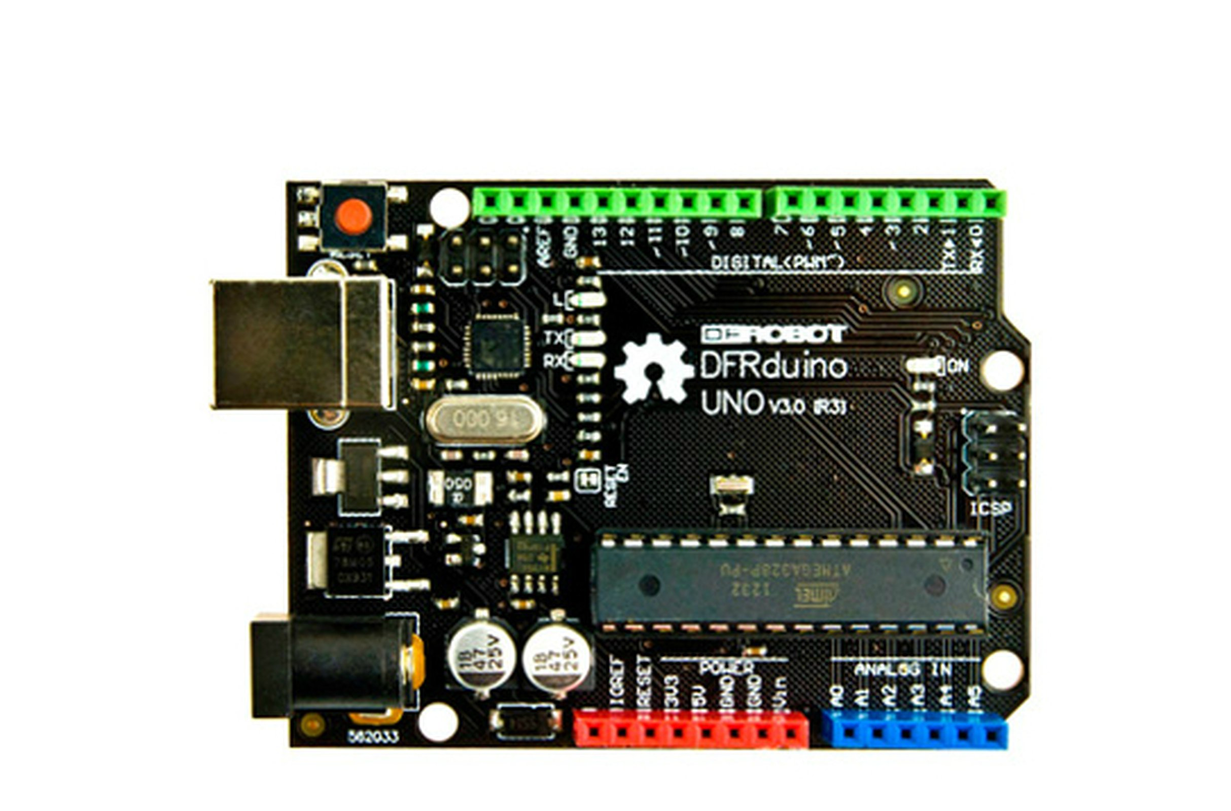 Dfrduino Uno R3 From Exlene On Tindie Arduino Atmega328p 16u2 Dip Usb Cable Programming 2