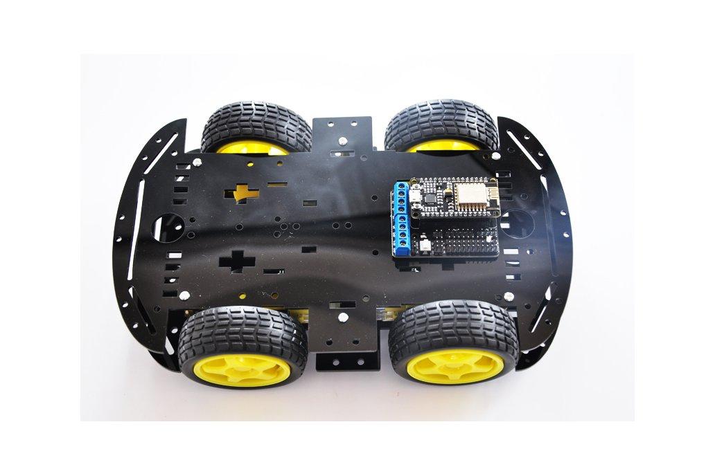 ESP8266 Wireless WiFi 4WD RC Smart Car  6