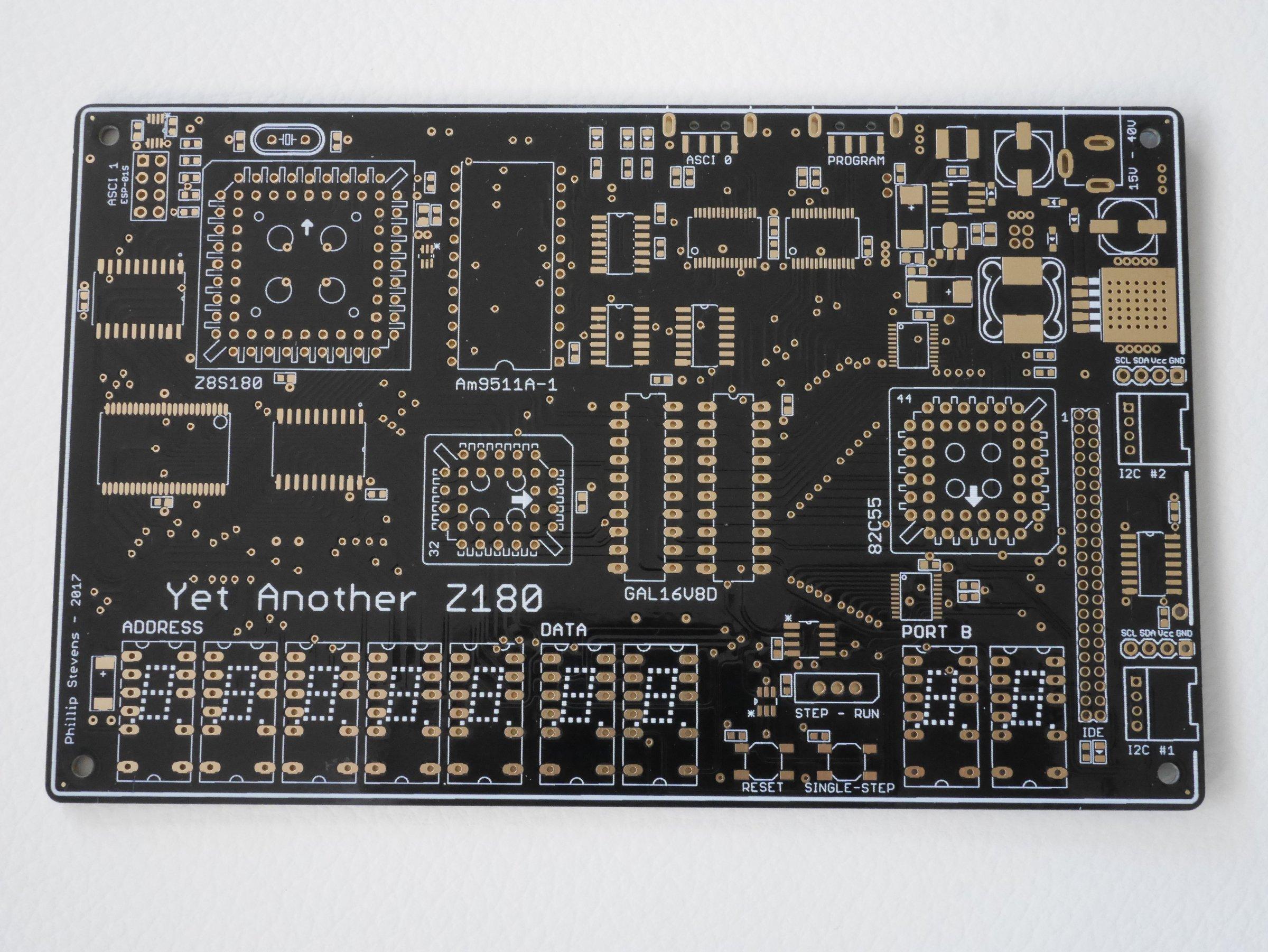 YAZ180 PCB - Modern Single Board Z80 Computer from feilipu on Tindie