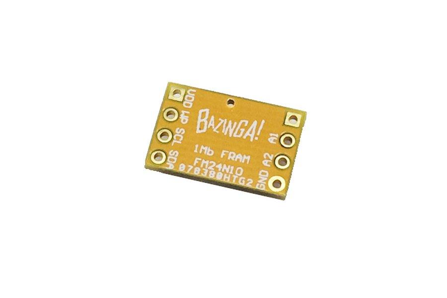 Cypress FM24V10 - 1Mbits I2C FRAM breakout
