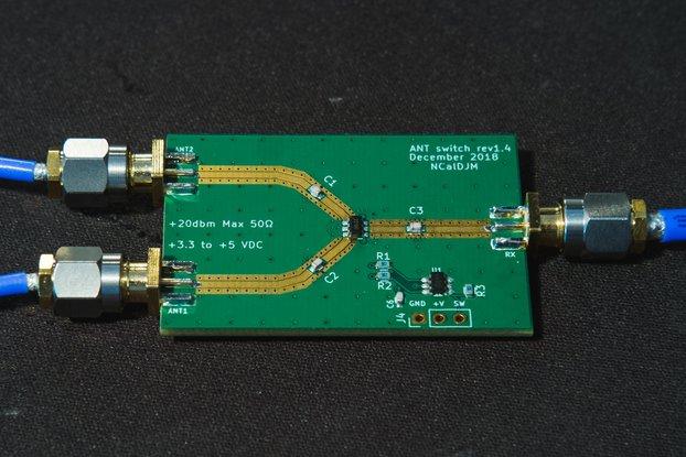 Antenna Switch-10mhz to 3 ghz SPDT RF switch