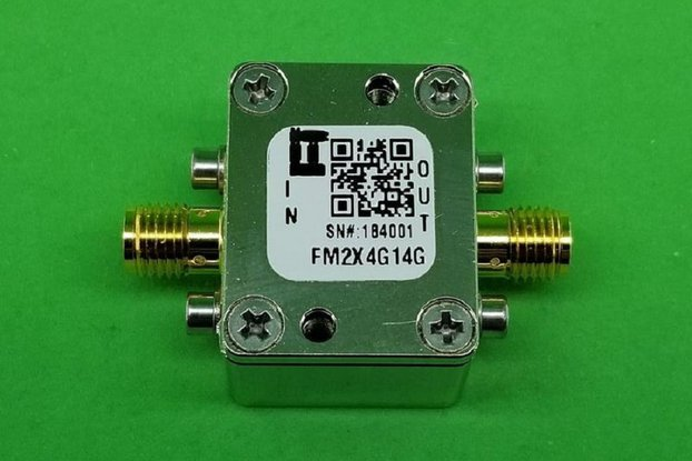 Passive Freq. Multiplier X2 (OUTPUT 4G to 14 GHz)
