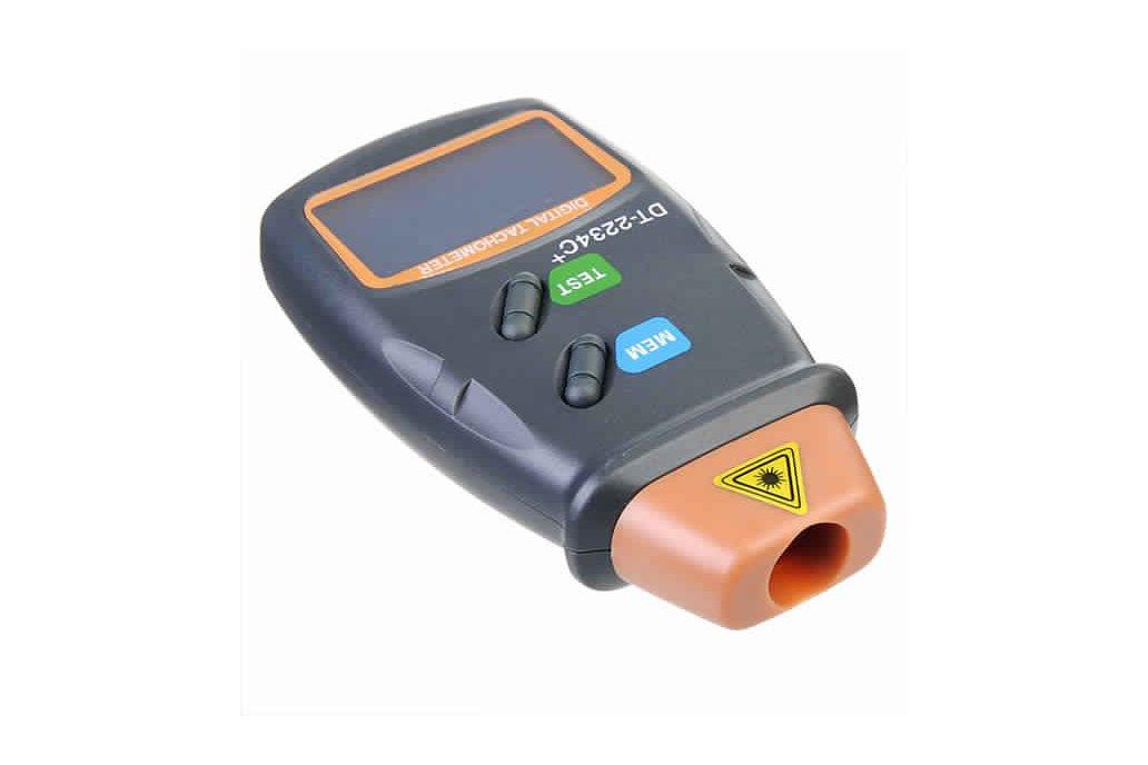 Digital Laser RPM Tachometer 4