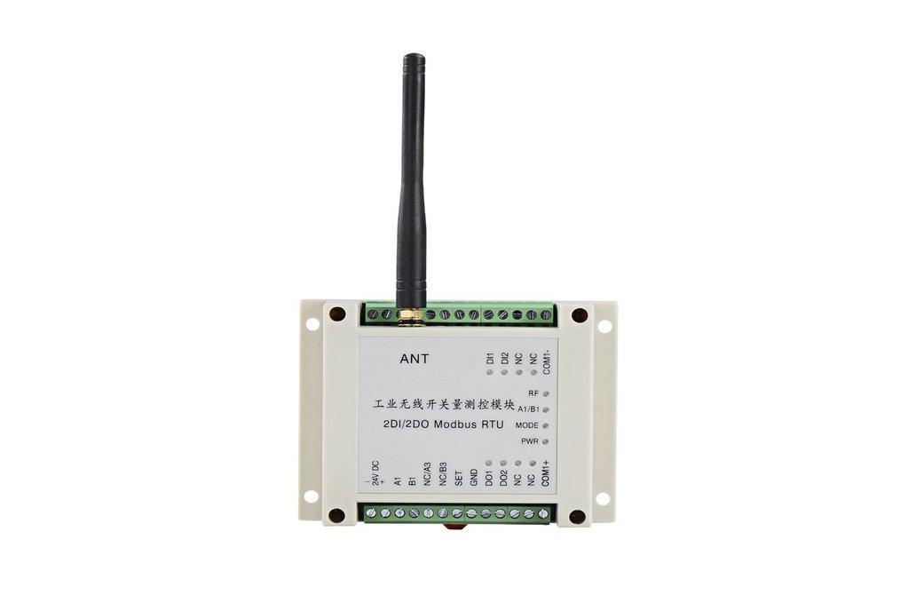RDIO0202 Wireless RTU 2DI 2DO Wireless I/O module 1