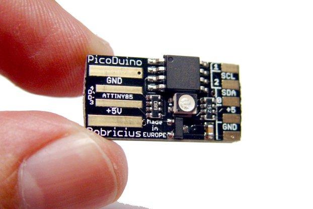 PicoDuino Attiny85 arduino & RGB led