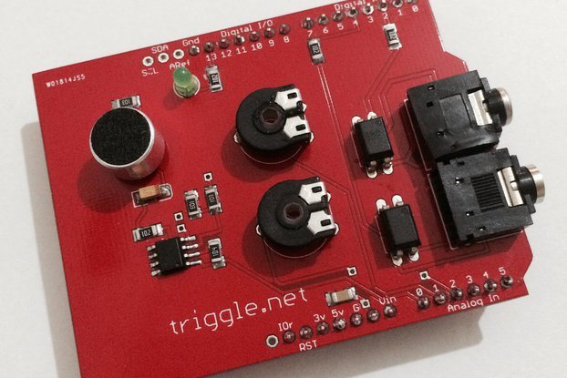 Sound Trigger Shield for Arduino