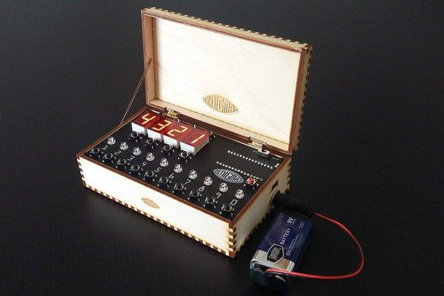 NanoEnigma, an Enigma Z30 Machine Simulator