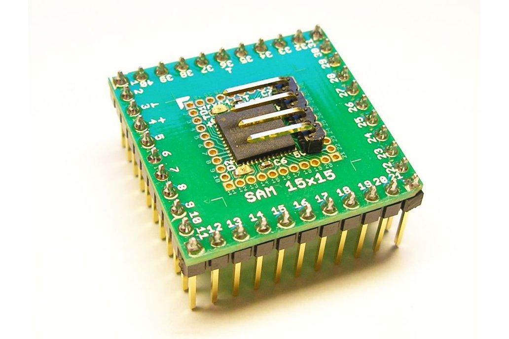 SAM15x15 Arduino Zero compatible SAMD21 board 1