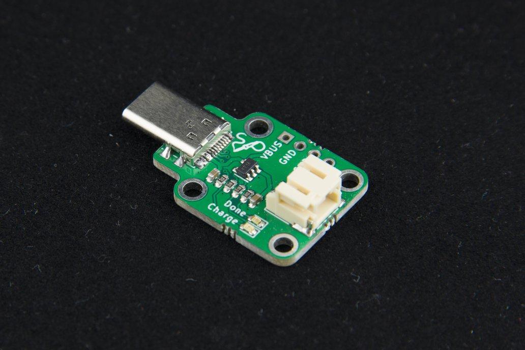 3.7V/4.2V LiPo Charger with USB Type-C Plug 1