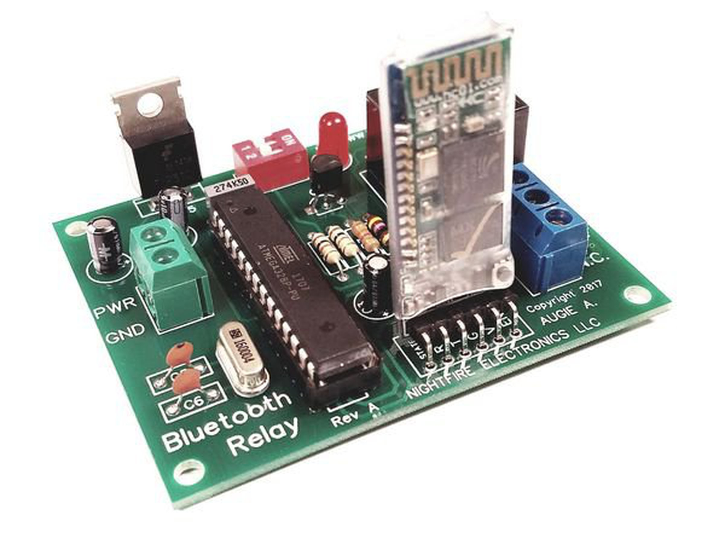 Arduino Bluetooth Relay Board Kit Built Tested From Nightfire To 1